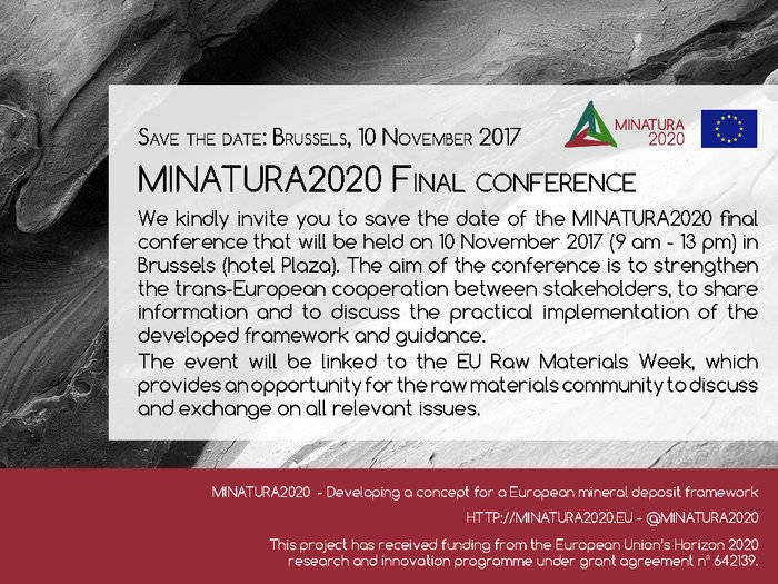 MINATURA2020 Final Conference: a unique opportunity to strengthen EU cooperation